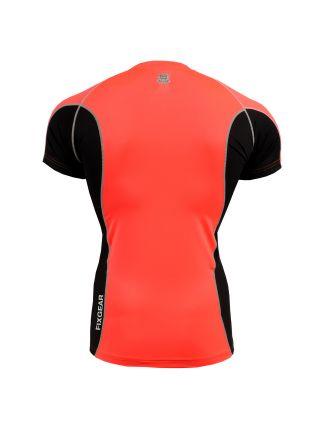 Рашгард с коротким рукавом FIXGEAR FCTR-BPS оранжевый