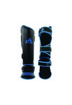 Защита голени и стопы Adidas Eco Shin Instep черно-синяя