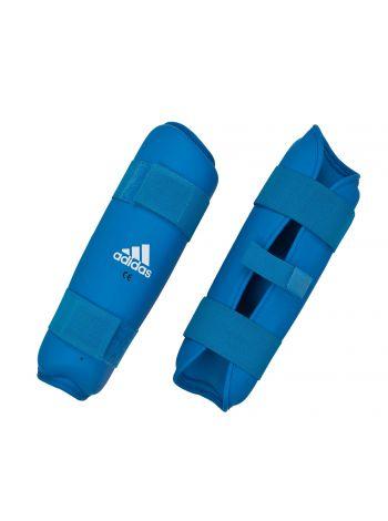 Защита голени Adidas PU Shin Guard синяя