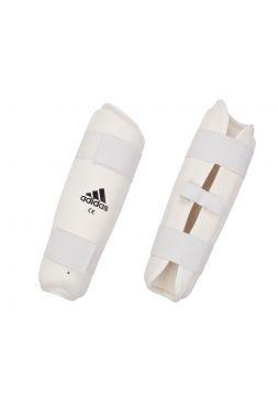 Защита голени Adidas PU Shin Guard белая