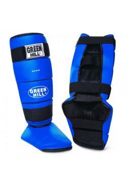 Защита голени и стопы Green Hill SHIN INSTEP PAD BRAM синяя