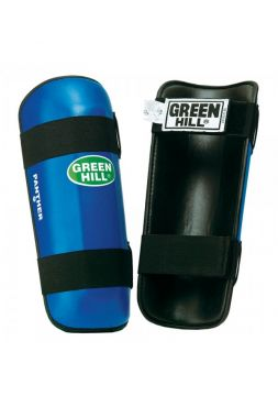 Защита голени Green Hill SHIN PAD PANTHER синяя