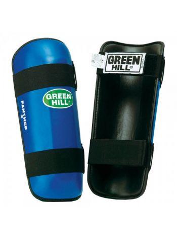 Защита голени Green Hill SHIN PAD PANTHER синяя