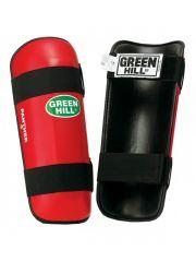 Защита голени Green Hill SHIN PAD PANTHER красная