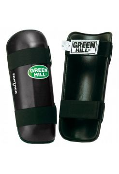 Защита голени Green Hill SHIN PAD PANTHER черная