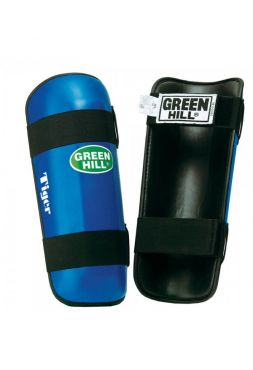 Защита голени Green Hill SHIN INSTEP PAD TIGER синяя