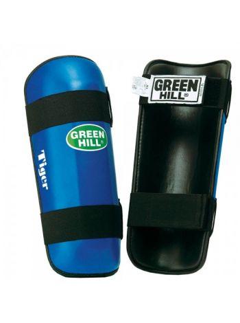 Защита голени Green Hill SHIN INSTEP PAD TIGER синяя