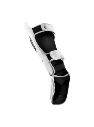 Защита голени и стопы Hayabusa T3 бело-черные