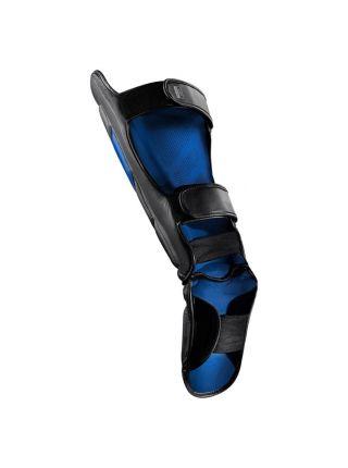 Защита голени и стопы Hayabusa T3 черно-синяя