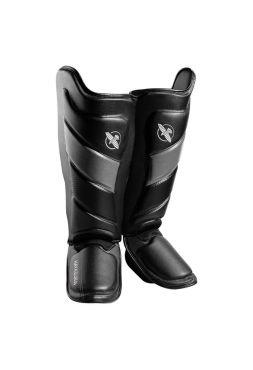 Защита голени и стопы Hayabusa T3 черно-серая