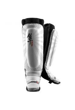 Защита голени и стопы Hayabusa Ikusa белая