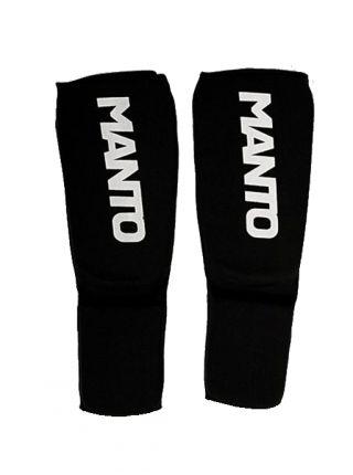Защита голени и стопы MANTO LOGOTYPE черная