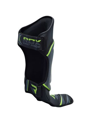 Защита голени и стопы RDX MMA Shin Instep Guards Muay Thai Kickboxing