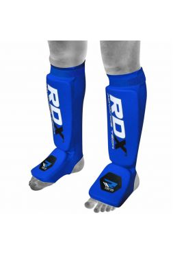 Защита голени и стопы RDX Support Brace Protection синяя