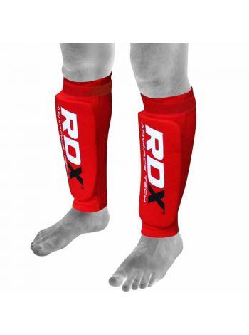Защита голени RDX Support Brace Protection красная