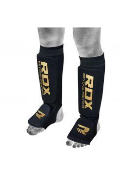 Защита голени и стопы RDX Support Brace Protection черная