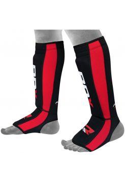 Защита голени и стопы RDX Neoprene Gel красная