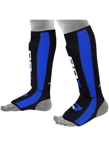 Защита голени и стопы RDX Neoprene Gel синяя