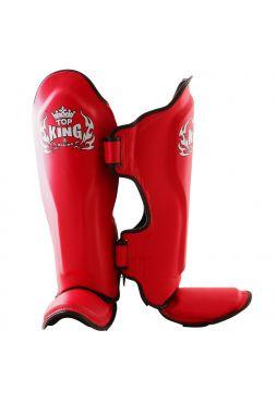 Защита голеностопа и стопы Top King (TKSGP-GL) красная