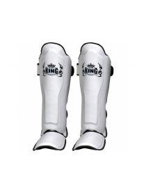 Защита голеностопа и стопы Top King (TKSGP-GL) белая на липучке