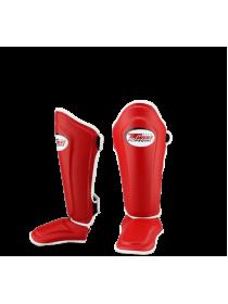 Защита голеностопа и стопы TWINS SGL-10 красная на липучке