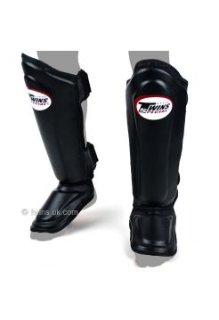 Защита голеностопа и стопы TWINS SGL-10 черная на липучке