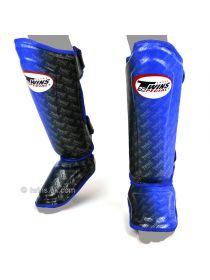 Защита голени и стопы Twins FSG-TW1 голубо-черная