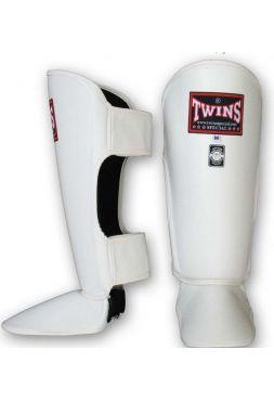 Защита голеностопа и стопы TWINS SGL-10 белая на липучке
