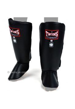 Защита голени и стопы Twins Thick Padded SGL-2 черная