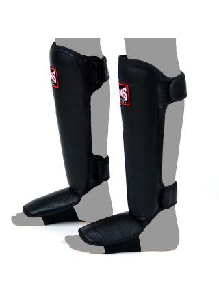 Защита голеностопа и стопы TWINS черная SGL-3 на липучке