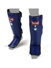 Защита голени и стопы Twins Slim Padded SGL-3 синяя