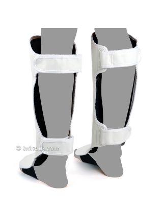 Защита голени и стопы Twins Slim Padded SGL-3 белая