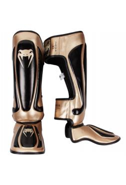 Защита голени и стопы VENUM PREDATOR черно-золотая