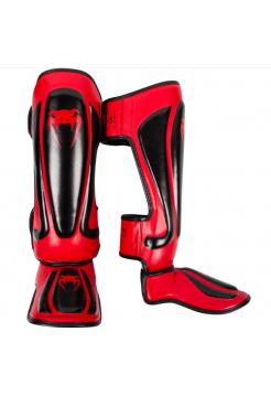 Защита голени и стопы VENUM PREDATOR черно-красная