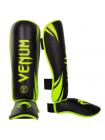 Защита голени и стопы VENUM CHALLENGER черно-желтая