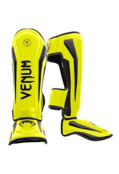 Защита голени и стопы VENUM ELITE желтая