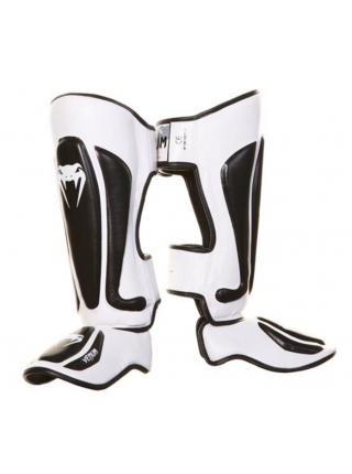Защита голени и стопы VENUM PREDATOR бело-черная