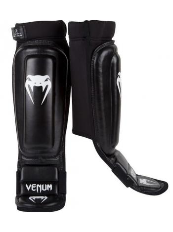 Защита голени и стопы VENUM 360 MMA черная