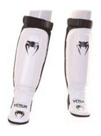 Защита голени и стопы VENUM 360 MMA белая