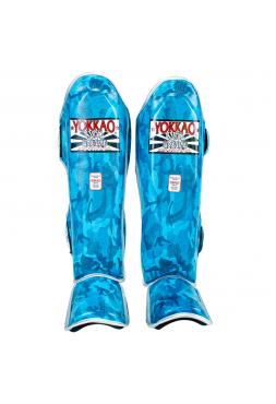 Защита голени и стопы Yokkao Blue Army