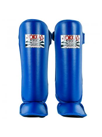 Защита голени и стопы Yokkao Basic синяя