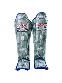 Защита голени и стопы Yokkao Grey Army