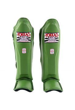 Защита голени и стопы Yokkao Matrix зеленая