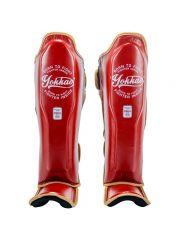 Защита голени и стопы Yokkao Vintage красная