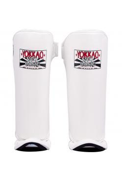 Защита голени и стопы Yokkao Basic белая