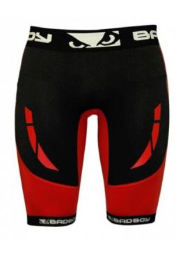 Компрессионные шорты BAD BOY SPHERE COMPRESSION красные