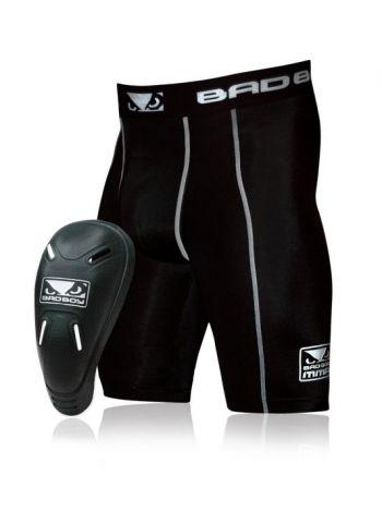 Компрессионные шорты BAD BOY DEFENDER 2.0 с ракушкой
