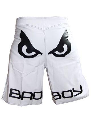 Шорты ММА Bad Boy Scrupper Fight белые