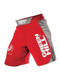 Шорты Green Hill MMA SHORT IMMAF APPROVED красные