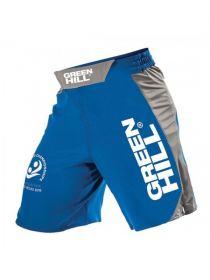Шорты Green Hill MMA SHORT IMMAF APPROVED синие